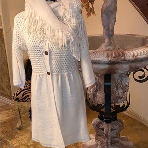 Willi Smith Sweater Coat